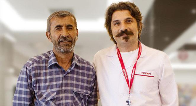 Diyarbakır'da ayağını kaybedecek duruma gelen hasta iyileşti