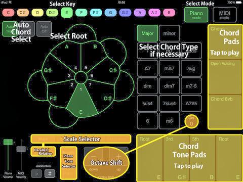MATRIXSYNTH: Chordy for iPad