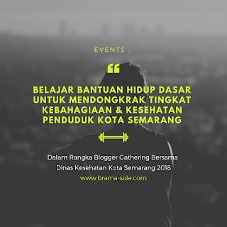 Belajar Bantuan Hidup Dasar Dan Mendongkrak Tingkat Kebahagiaan Serta Kesehatan Penduduk Kota Semarang Dengan Inovasi Pelayanan Kesehatan