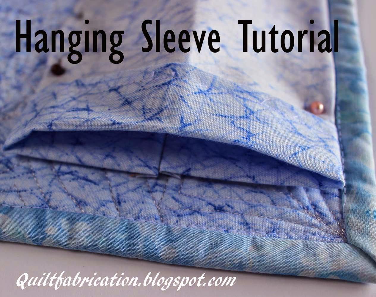 hanging sleeve rod pocket quilt
