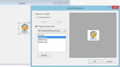 Menggunakan Event MouseDown, MouseEnter, MouseLeave, MouseUp