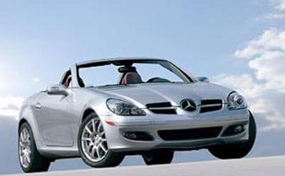 Mobil sports dengan konsumsi bahan bakar paling irit Mercedes Benz SLK350