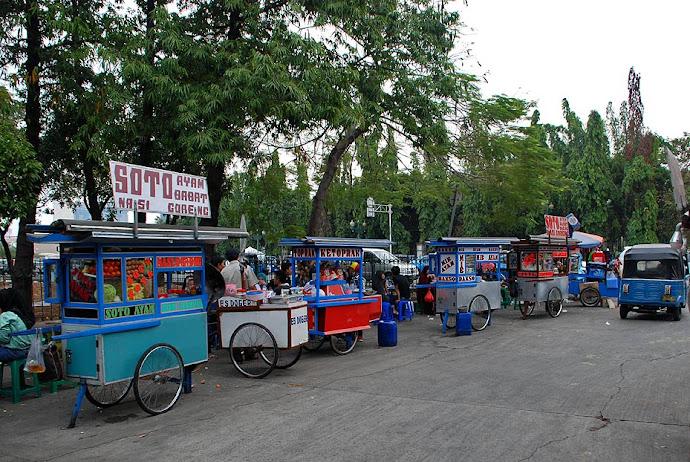 Vendedores callejeros