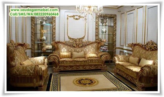 Sofa Ruang Tamu Mewah Manohara
