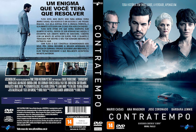 Capa DVD Contratempo [Exclusiva]
