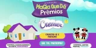 Promoção Cremer Disney Concorra 1 Casa e Ganhe Pelúcia Mickey ou Minnie