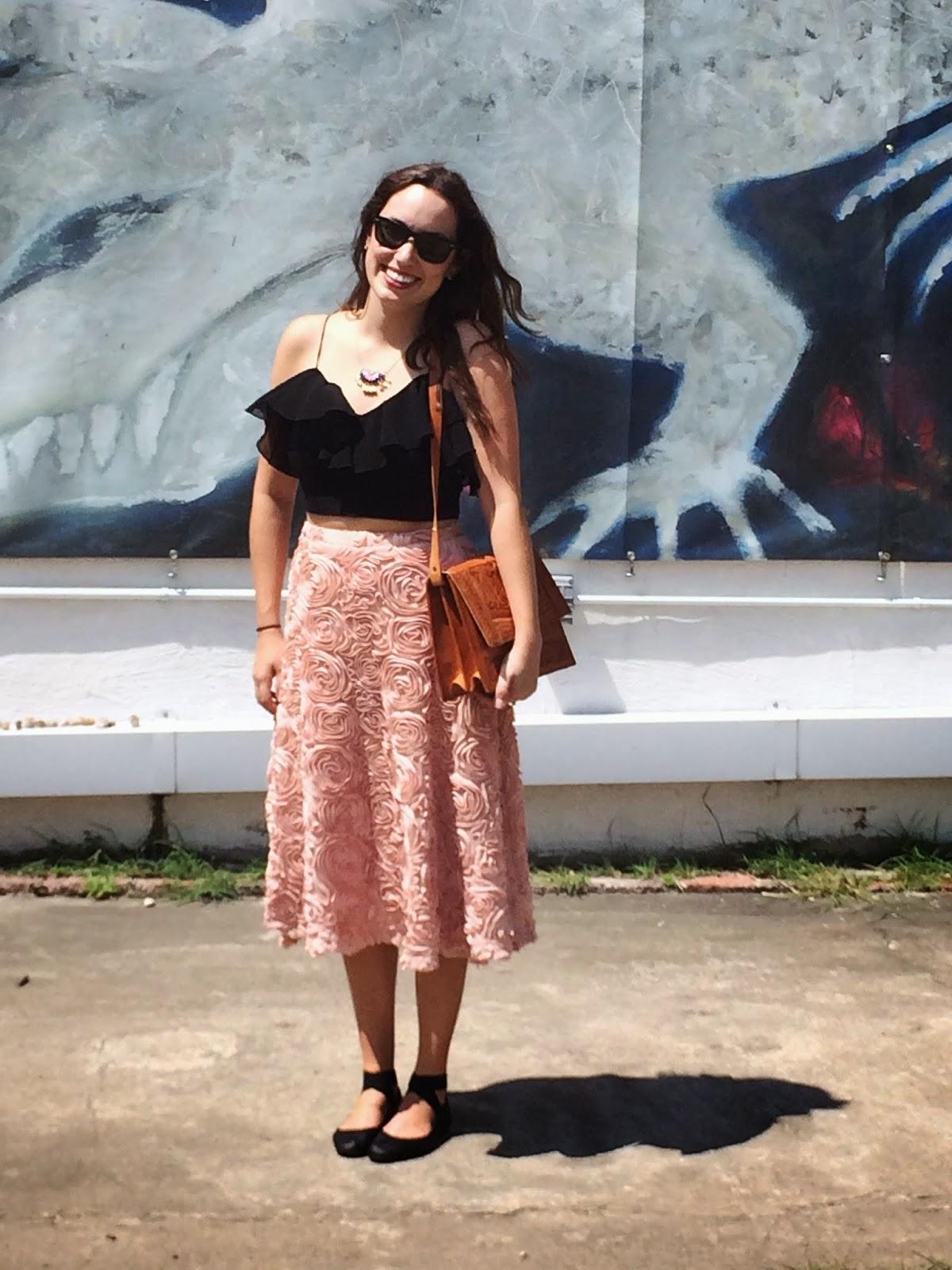 Anthropologie Petaluma Midi Skirt, Anthropologie Pink Skirt, Anthropologie Pink Midi Skirt, Petaluma Skirt, Trendy in Texas, Trendy in Texas Blog, Alice Kerley