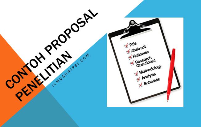 Contoh Proposal Skripsi Teknik Informatika 2018