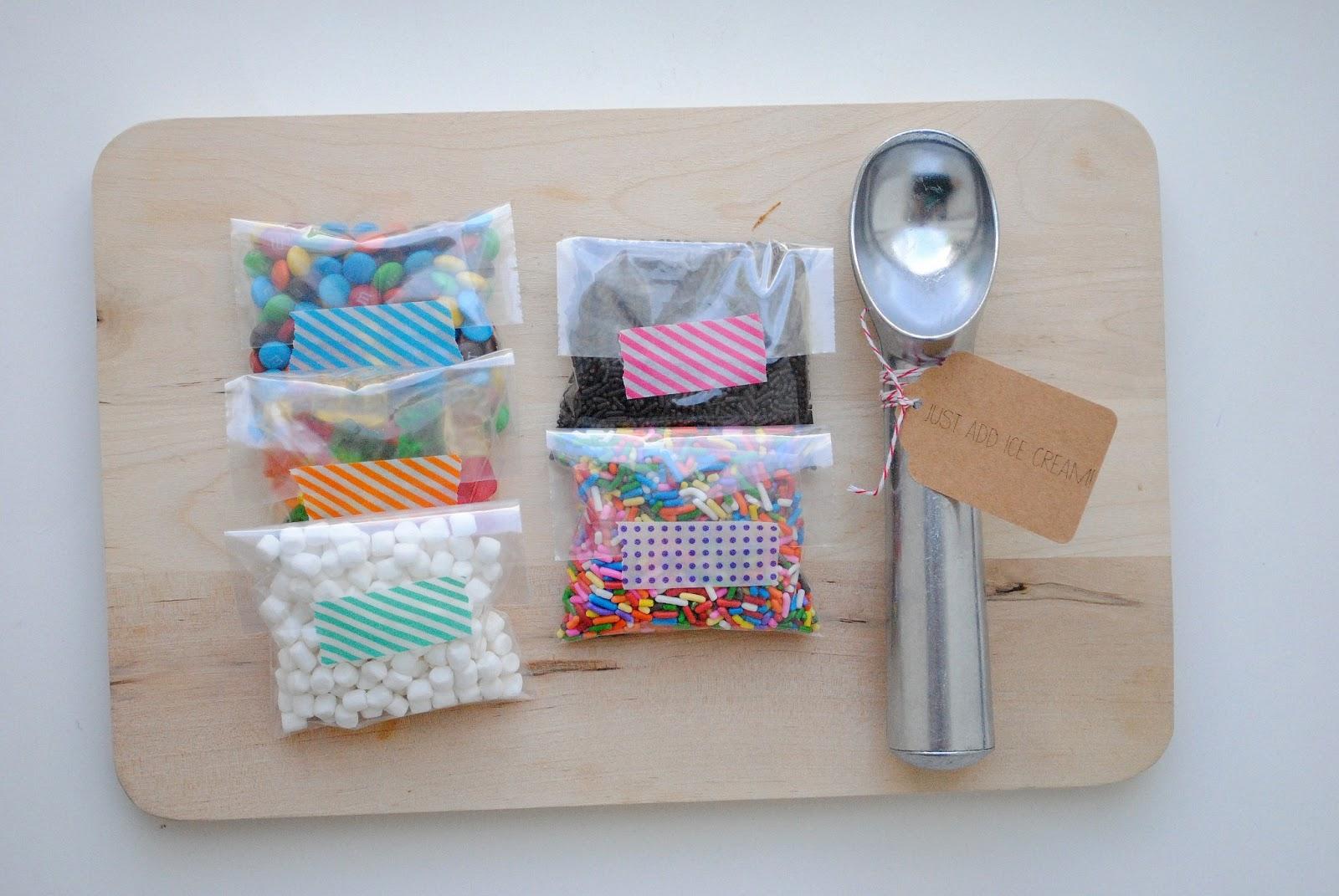 end of the year teacher gifts diy ice cream sundae kits. Black Bedroom Furniture Sets. Home Design Ideas