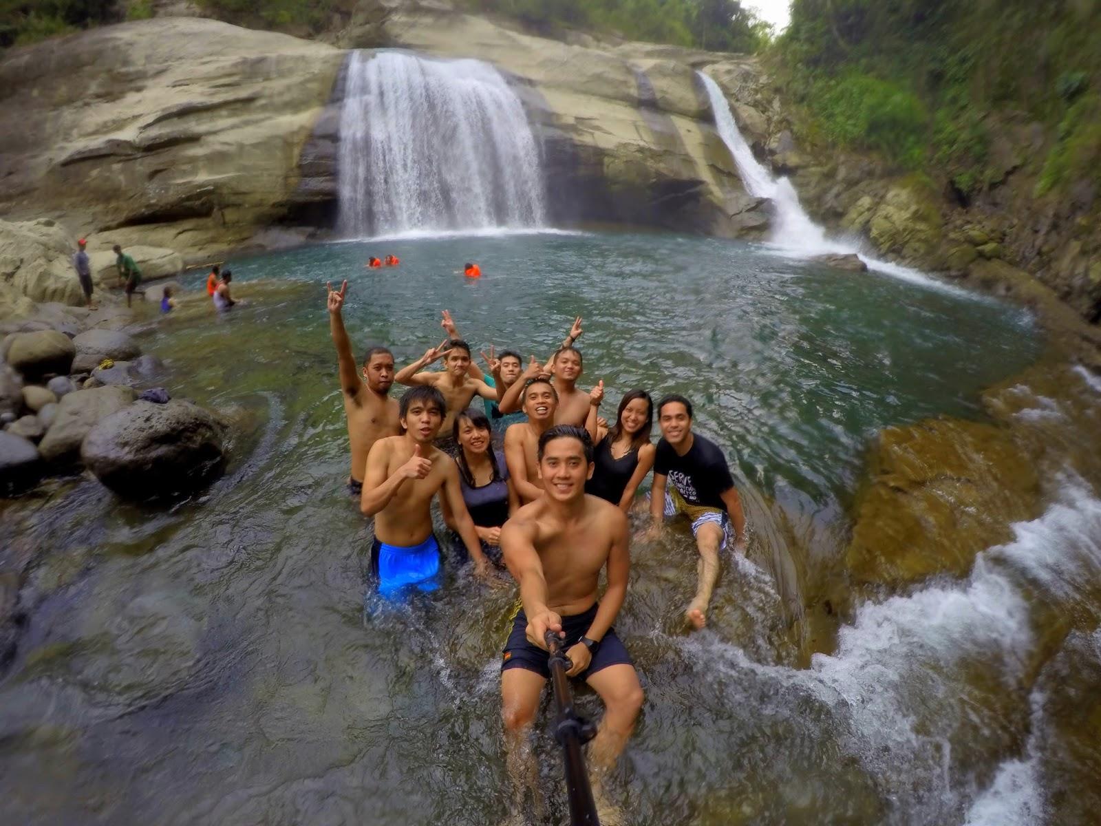 Party Pipz in Tangadan Falls
