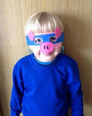 Ninja Pig Costume