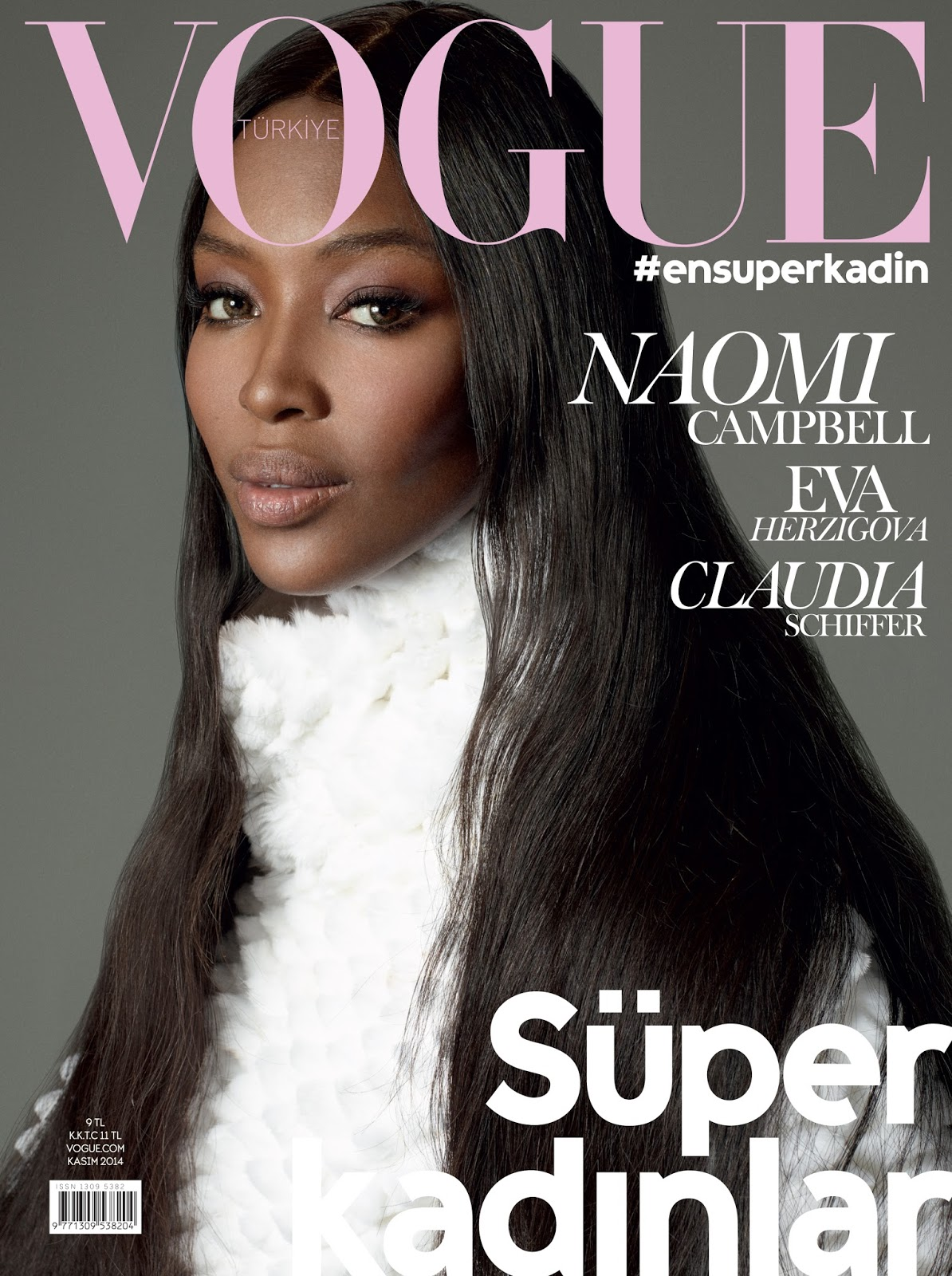 vogue naomi campbell magazine november covers eva claudia turkey schiffer italia herzigova meisel steven paris brazil throughout years cuneyt akeroglu