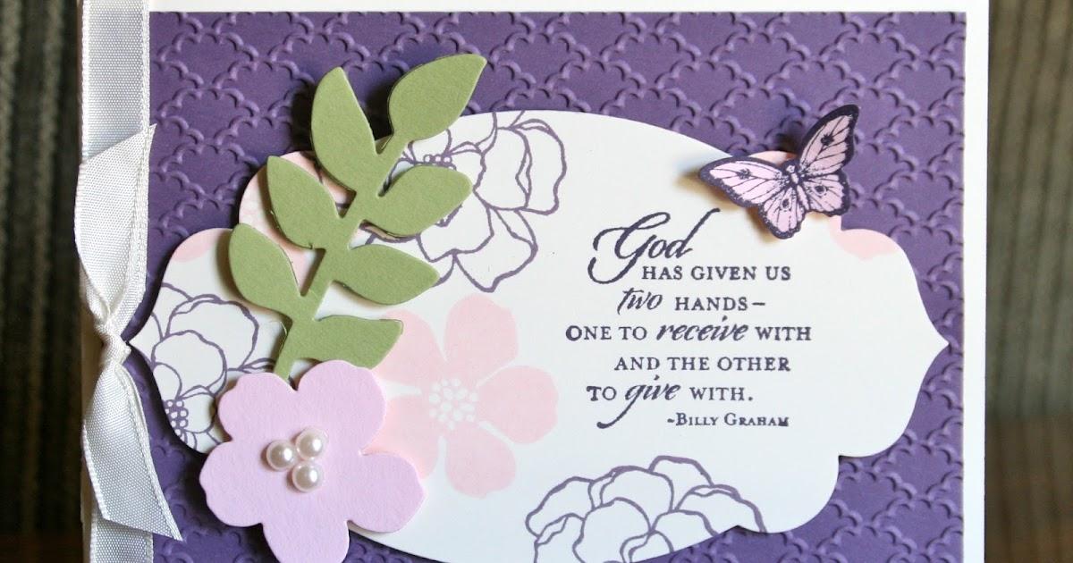 Krystal's Cards Elegant Blessings Card Class Coming Soon