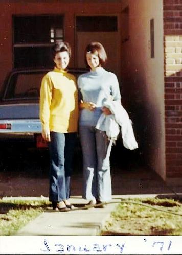 Mom & Me, Guatemala, January 1971