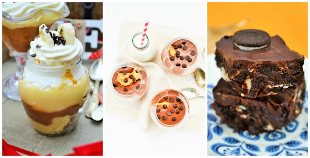 Sweet recipes for Hogmanay. Dessert and traybakes from tinnedtomatoes.com #canapes #newyear #recipe