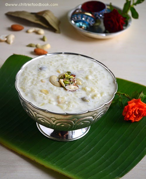 Bengali chaler payesh reciperice kheer recipe chitras food book bengali chaler payesh recipe forumfinder Image collections