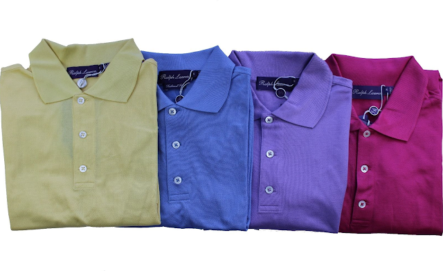 Ralph Lauren Purple Label Polo Shirts