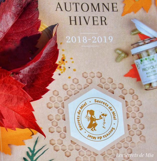 Catalogue automne hiver de Secrets de miel