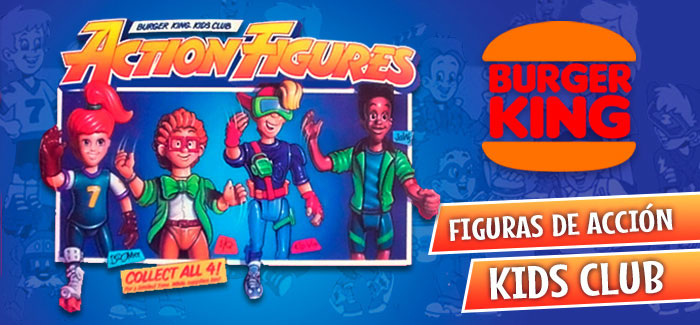 Figuras de acción de la Kids Club Gang