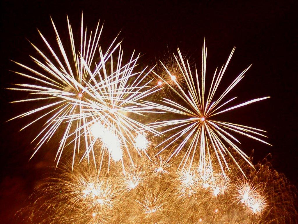 Pesta Kembang Api Tahun Baru