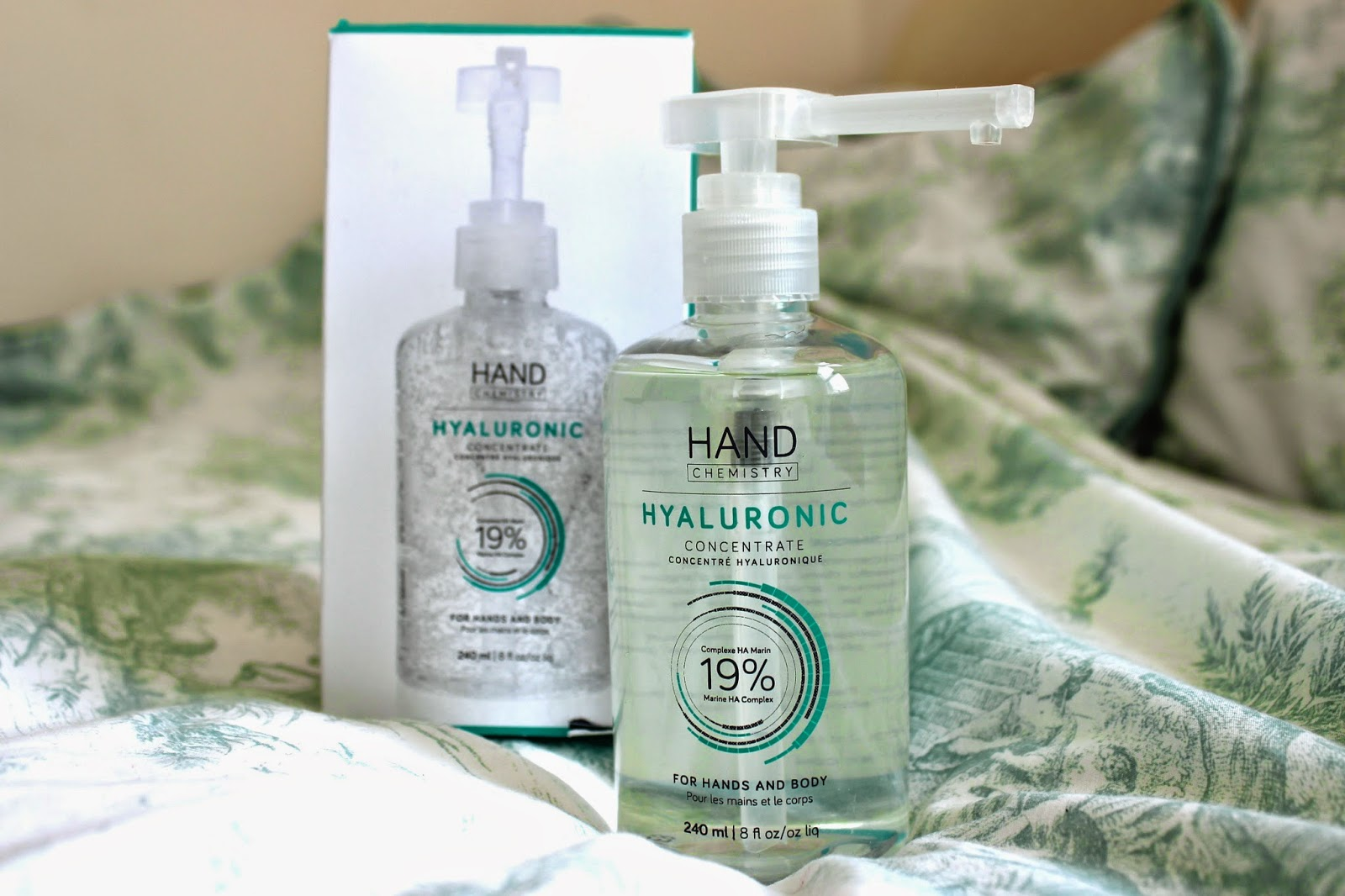 Hand Chemistry Hyaluronic Concentrate Review Body Cream Acid Review Blog Girl Culture