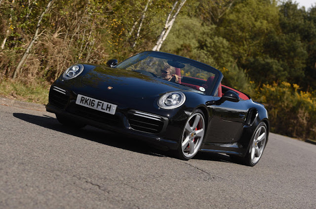 front review 2016 New Porsche  Turbo 911 Cabriolet Performance