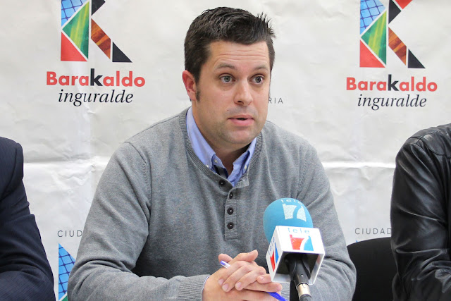 El concejal de Contratación, Danel Sola (PNV)
