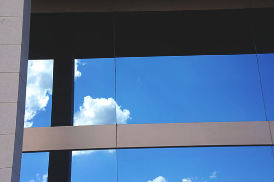 abstract, urban photography, urban photo, clouds, blue sky, reflections, street photography, architecture, Sam Freek,