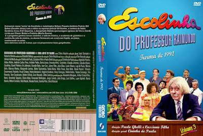 Série Escolinha do Professor Raimundo - Turma de 1992 DVD Capa