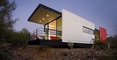 Casa móvil con energía solar