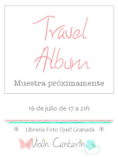 taller scrapbook, scrap, scrapbooking, álbum de viaje, travel álbum, diario viaje, creatividad, DIY, hand made, violín cantarín, violin cantarin