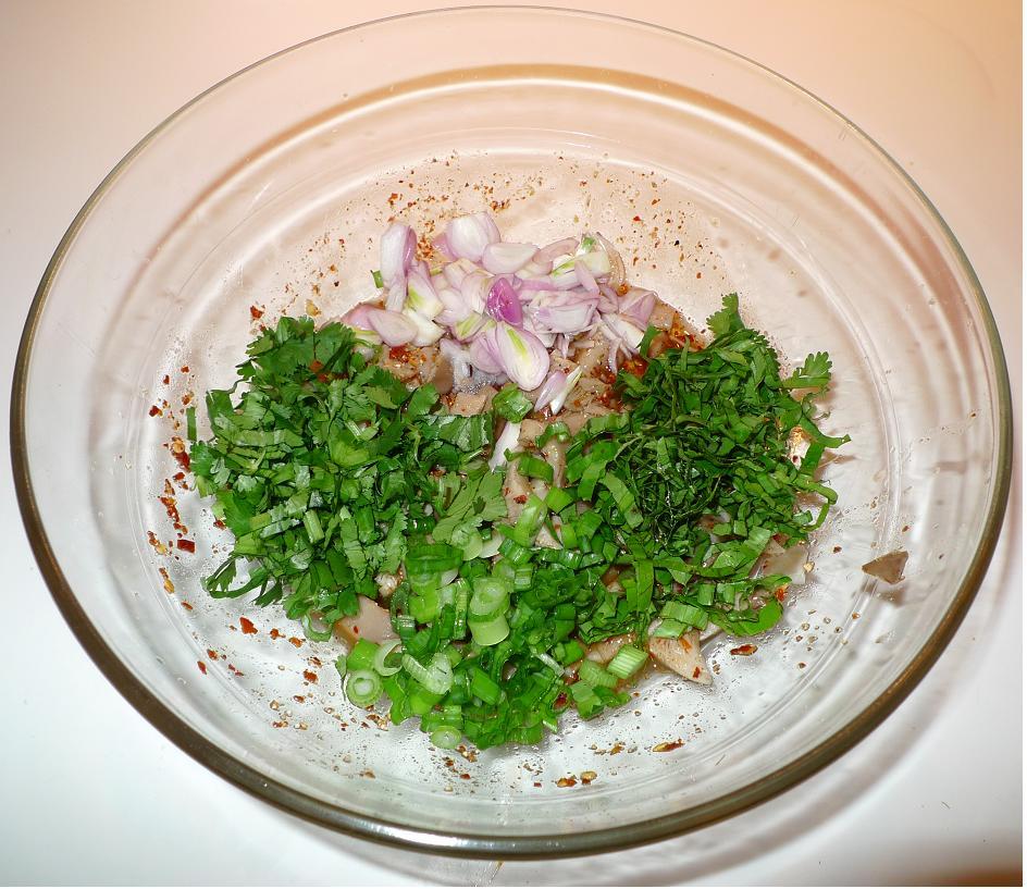Thai Kitchen Chester: Amporn's Thai Kitchen: Vegetarian Thai Spicy Mushroom