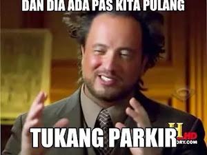 Tukang Parkir, Gak abis-abiszsz!!!