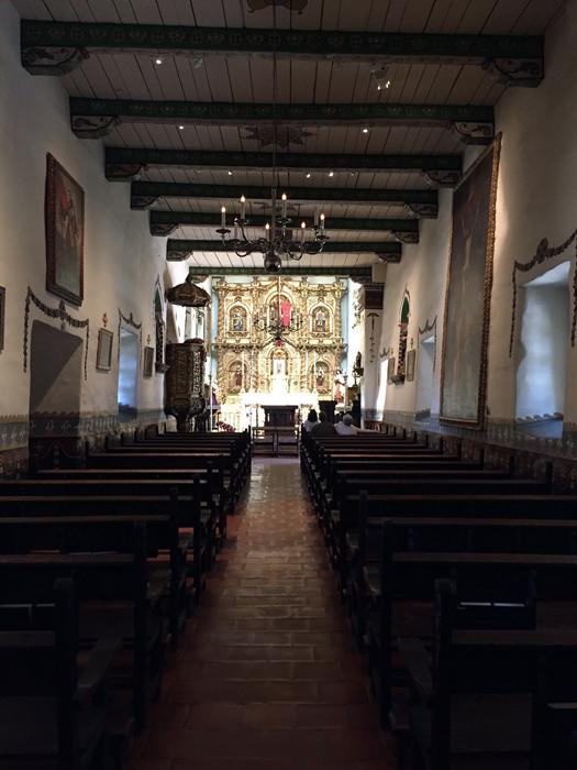 Mission San Juan Capistrano On A Sunny California Work Day