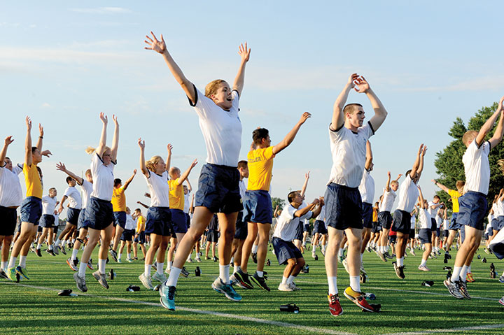 The Trident: Plebes Near Completion of Summer Training