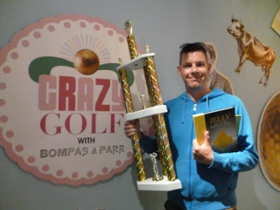 Champion minigolfer Richard Gottfried