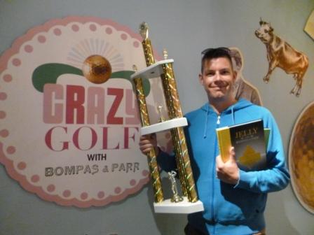 Champion minigolfer Richard Gottfried