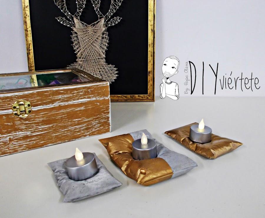 DIY-PINTYPLUS-handbox-ideas-decoración-candelabros-velas-almohada-cojín-cemento-oro-dorado-bolsa-bolsita-saquito-gold-evolution-9