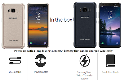 Samsung Galaxy S8 Active Manual and Tutorials