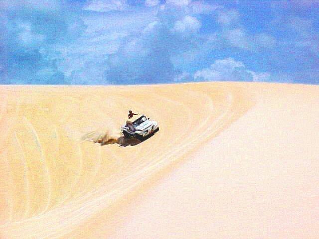 A monga viaja para procurar um namorado em Fortaleza.