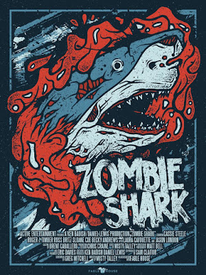 Zombie Shark 2015 Custom HDRip NTSC Latino