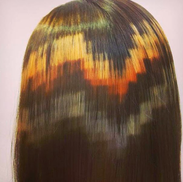 Pixel Hair (source: Tiffanymakeuptv) - Les Mousquetettes