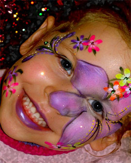 Body Painting Show: Face Painting Party - Birthday Ideas ...