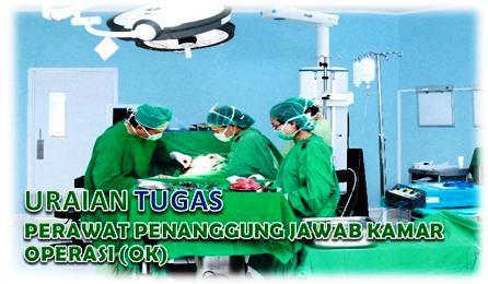 Tugas Perawat Penanggung Jawab Kamar Operasi (OK)