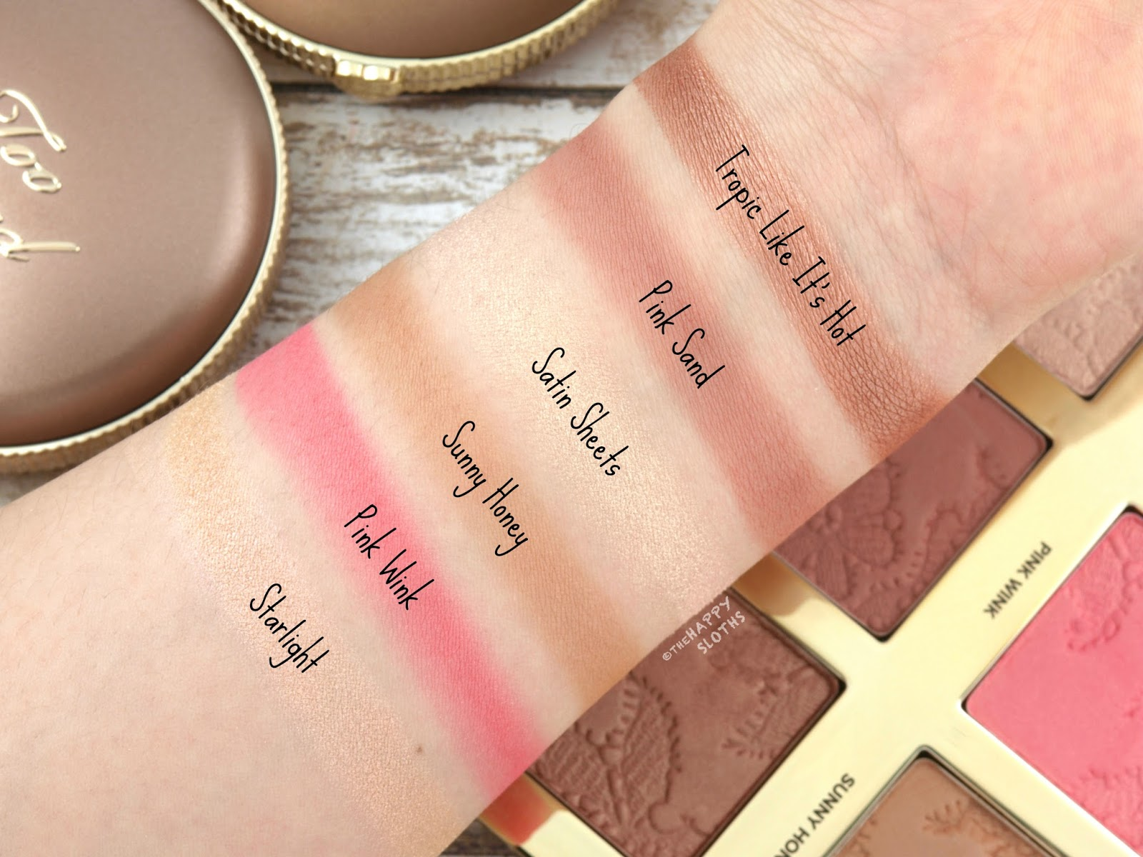 Too Faced Natural Face Makeup Palette: Review and Swatches