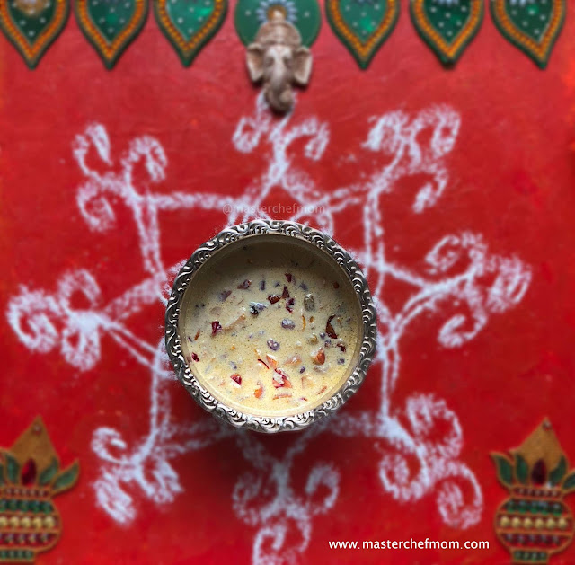 Fresh Fruit Payasam Recipe