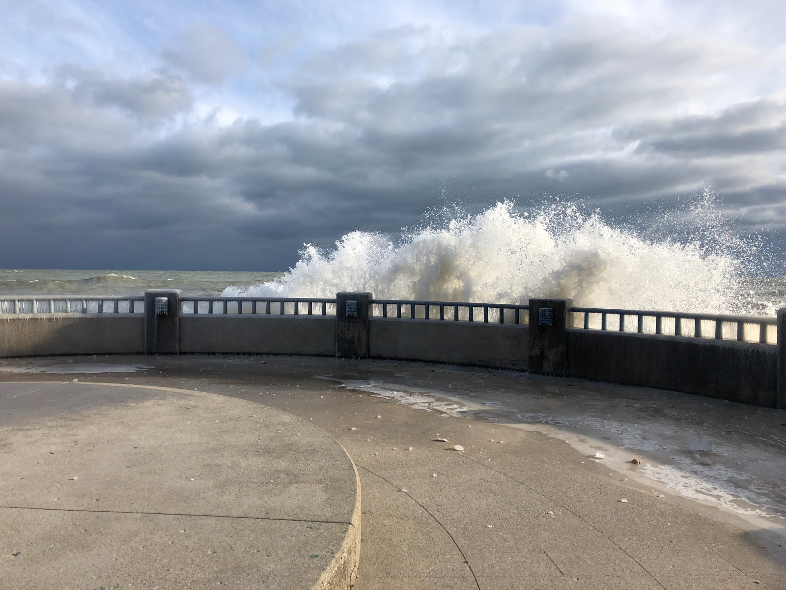 Lake Michigan gale