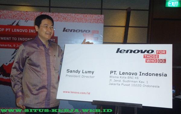 Lowongan Terbaru Kawasan Jakarta PT Lenovo Indonesia (SMA/SMK Sederajat)