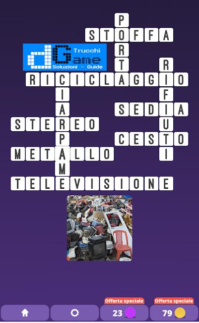 Soluzioni One Clue Crossword livello 14 schemi 6 (Cruciverba illustrato)  | Parole e foto
