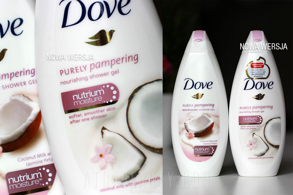 Dove, Purely Pampering, Nourishing Shower Gel, Coconut Milk and Jasmine Petals